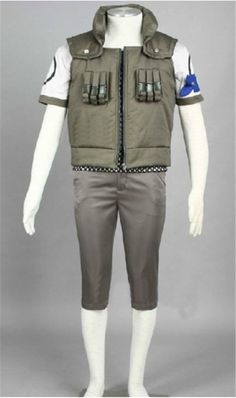 Vicwin-One Naruto Nara Shikamaru Cosplay Costume ** For more information, visit image link.
