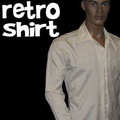 retro shirts from the 1970's for men