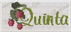 Semaninha Frutas