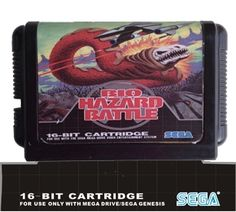 Sega 16bit MD games card: BIO HAZARD BATTEL For 16 bit Sega MegaDrive Genesis game console