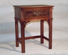 Chippendale furniture was a product of the Georgian era in England and was popular from ca. 1740-1770