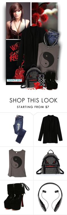 """""""Cool stylings by Tomtop Fashion"""" by christiana40 ❤ liked on Polyvore featuring Fendi, Kate Spade, women's clothing, women, female, woman, misses and juniors"""
