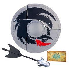 $19.99 Amazon.com: DreamWorks Dragons Defenders of Berk - Transforming Shield: Toys & Games LAKJDSLAKJDFLKAJDF IT'S HICCUP'S ORNATE SHIELD 8D @Kiera McManus