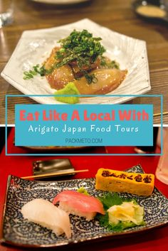 Head on a tour with Arigato Japan Food Tours to eat like a local in Tokyo, Japan | packmeto.com