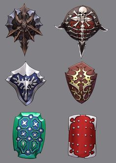 shield designs 1 by `Wen-M on deviantART