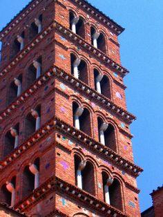 Roma: campanile della basilica dei santi Giovanni e Paolo al Celio ♠ by Antonello Berardi