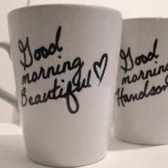 DIY Coffee Mugs for boyfriend or girlfriend