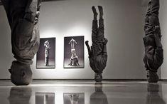 Cayetano Ferrandez |Grey Man Sculpture