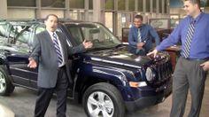 2014 Jeep Patriot in NEW YORK YANKEES BLUE #yankees #eastchesterchryslerjeepdodge #bronx