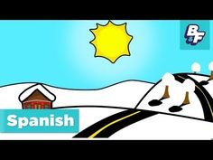 Learn Spanish seasons and weather with BASHO & FRIENDS - YouTube