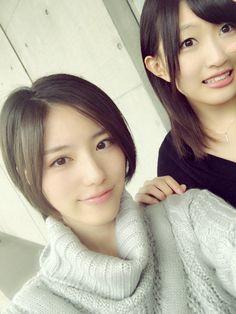 Anna Ijiri x Emika Kamieda  https://twitter.com/ijirianna0120/status/802727702474067968