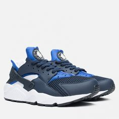 4ea4838ca69f Кроссовки Nike Air Huarache Midnight Navy Lyon Blue Article  318429-442  Release  2015