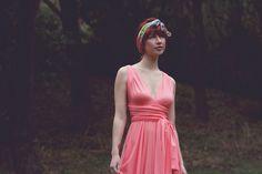 Sunset Beach Ginger Long Octopus Convertible Wrap Gown Dress. $98.99, via Etsy.