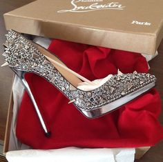 Louboutin seriously i will book my first trip to london baby