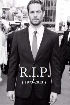 Goodbye Paul Walker