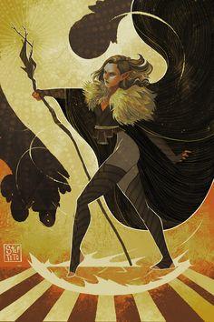 Art by Stef Tastan Dragon Age Inquisition, Fantasy Inspiration, Character Inspiration, Character Art, Character Design, Character Portraits, Dragon Age Tarot Cards, Fantasy Illustration, Medieval Fantasy