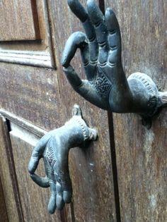 doorknobs / Buddhist Symbols and #Mudras (Gestures of the Buddha)