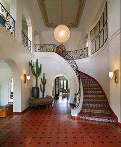 #stairs.   Grand Spanish Estate by marxluv