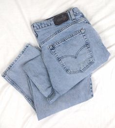 Levi's SilverTab Jeans 40 x 34 Big Baggy Vintage Retired Stonewash Denim USA #Levis #BaggyLoose