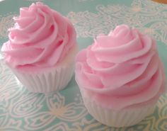 3D Shea Butter Cupcake Soap by siaelena on Etsy, $5.00