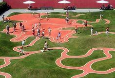 modern play area
