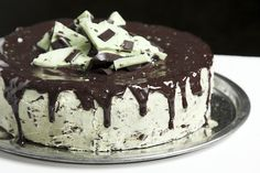 Life {Made} Simple: Andes Mint Chocolate Chip Cake