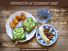 Desayuno sano #Dieta