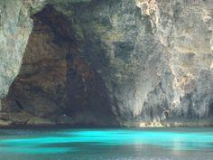Un pincel mágico --- Isla de Comino---Laguna Azul