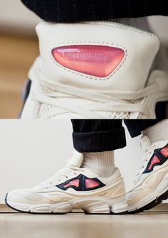 Raf Simons x adidas Originals 2015 Fall/Winter Ozweego 2  Another progressive take on the Three Stripes' throwback running silhouette.