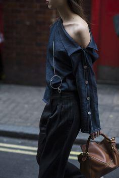 London Women's Fashion Week SS17 Reportage by Julien Boudet Supernatural Style