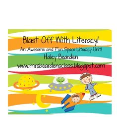 Blast off with Literacy - This is a cute Spaced themed mini literacy unit. It contains two predictable readers that are great for emerging readers. It also includes a great . Stars Classroom, Classroom Themes, Classroom Organization, Space Activities, Literacy Activities, Language School, Speech And Language, Activity Centers, Literacy Centers