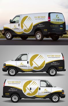 Car Wrap by Tec Venta in Car, truck or van wrap design Ideas & Inspiration Van Design, Logo Design, Van Signage, Auto Gif, Vehicle Signage, Vehicle Branding, Van Car, Truck Design, Lifted Ford Trucks