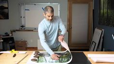 Mounting Prints onto Gatorfoam Board (adhesive board)
