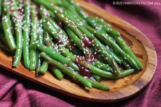 Busy in Brooklyn » Blog Archive » Cranberry Sriracha Green Beans