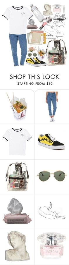 """""""let's go"""" by tasnim-ali ❤ liked on Polyvore featuring Wrangler, Vans, *Accessories Boutique, Givenchy, The Body Shop, House Parts, Versace, Fresh, vans and versace"""