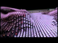 MegaFaces Kinetic Facade Shows Giant 3D 'Selfies' from iart on Vimeo - YouTube