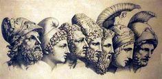 Estos son los siete reyes de la Monarquía Romana (753 a.c - 509 a.c) Rómulo, fundador de Roma (753 – 715) Numa Popilio (715 – 673 ) Tulio Hostulio (673- 641) Anco Macio (641-616) Lucio Tarquinio Prisco (616-578) Servio Tulio (578-534) Lucio Tarquinio 'EL SOBERBIO' (534-509)