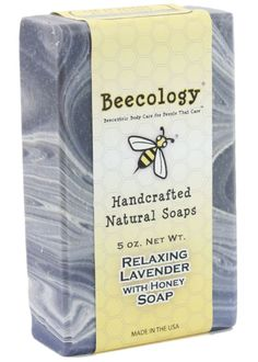 lavendar HONEY handcrafted bar soap ~ we're happy to share!