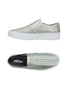 STUDIO POLLINI Women's Low-tops & sneakers Platinum 9 US