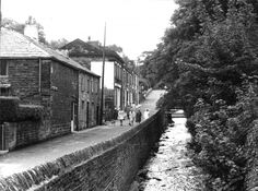 Historic Images of Bolton, Barrow Bridge, Lancashire, UK
