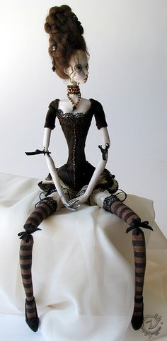 Interpertation of Marie Antoinette by Tireless Artist, via Flickr