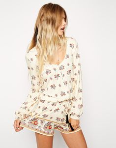 ASOS Gypsy Festival Playsuit in Print http://asos.to/Wk6ZGI