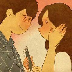 Ilustraciones en pareja