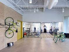 Evernote office in Redwood City, Calirfornia {22 Gorgeous Startup Offices You Wish You Worked In}
