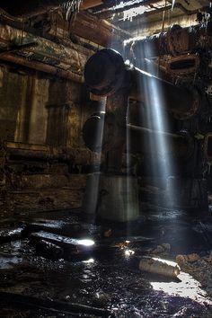 Abandoned power plant near Chicago.
