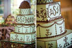 Bree : Jason | Jerrod Brown Studios | Wedding Cake