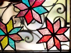 How to make stained glass cookies