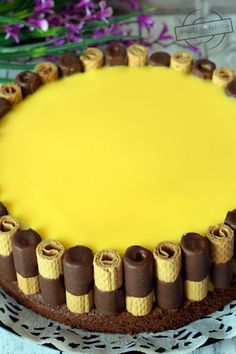 Ciasto Adwokatowe – Smaki na talerzu Birthday Cake, Desserts, Gastronomia, Tailgate Desserts, Deserts, Birthday Cakes, Postres, Dessert, Cake Birthday
