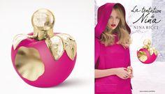 La tentation de Nina Ricci, su nuevo perfume .