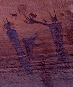 Photographs of the rock art of the Anasazi of the Four Corners Region of the United States: Utah, New Mexico, Arizona and Colorado.